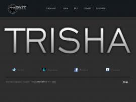 создание сайта для фотографа TRISHA